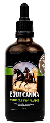 100ml EquiCanna CBD Olie 5% voor Paarden